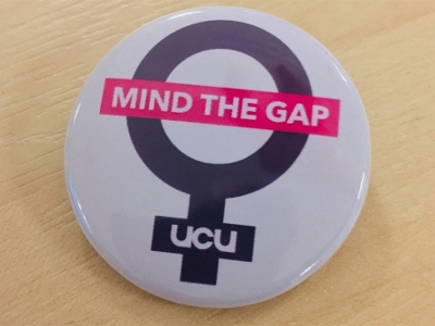 Gender pay gap badge