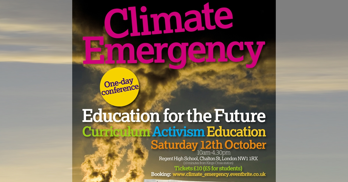 Climate emergency: education for the future - conference