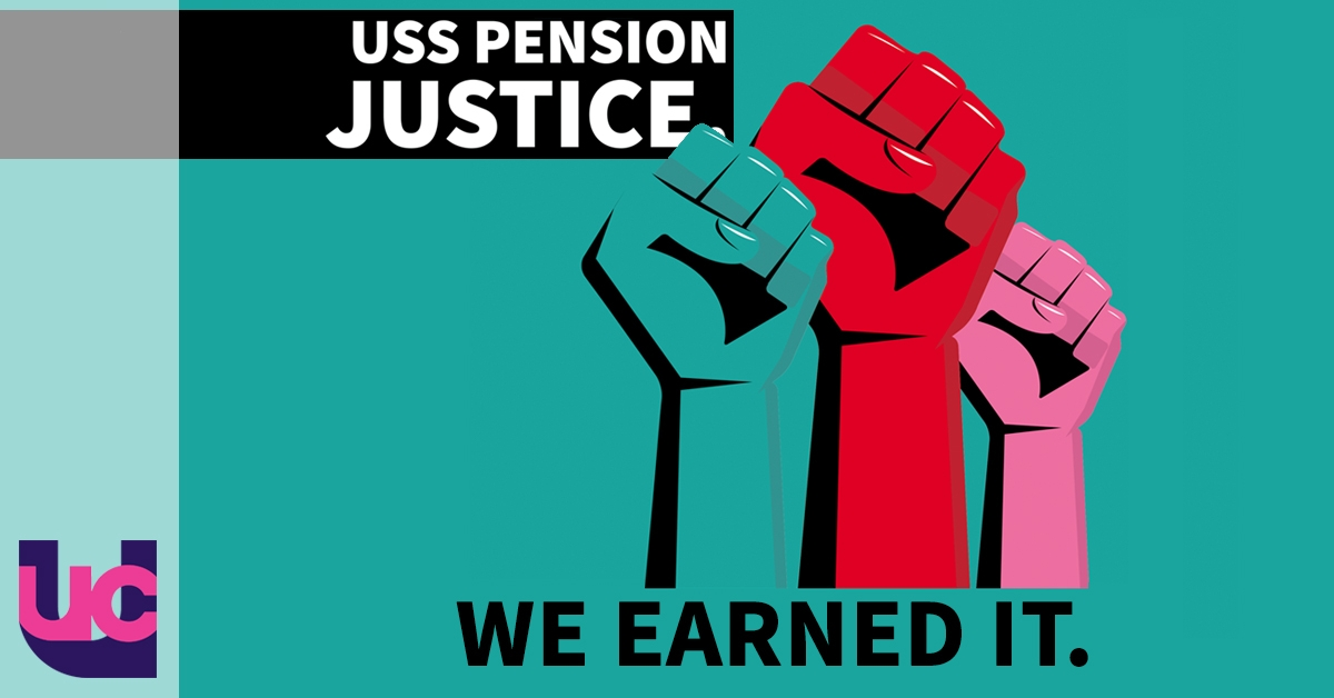 USS pension justice - we earned it (logo)