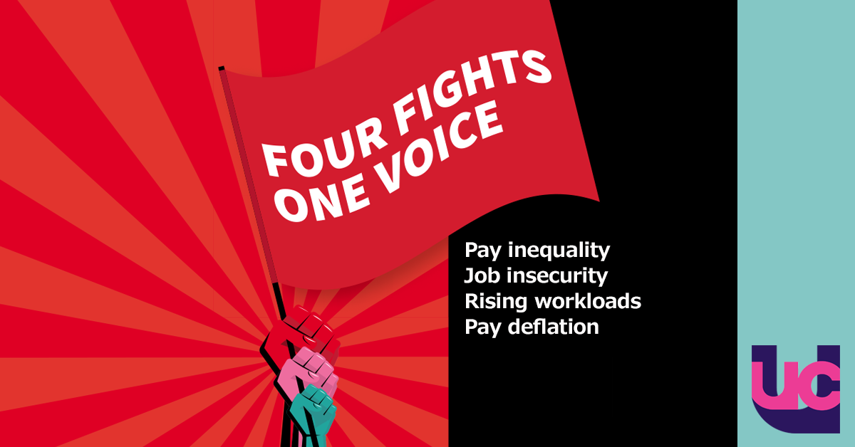 Four fights, one voice (with logo)