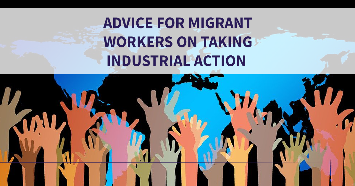 HE action - advice for migrant workers