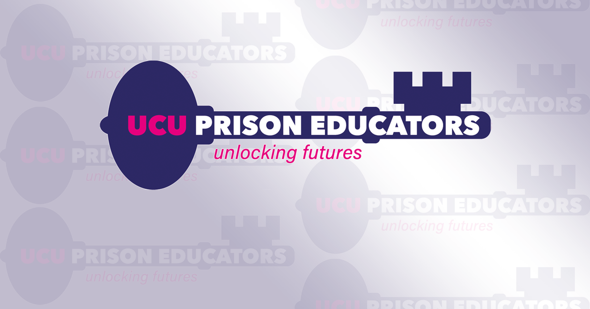 UCU prison educators - unlocking futures
