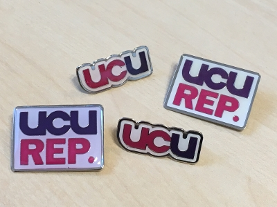 UCU badge