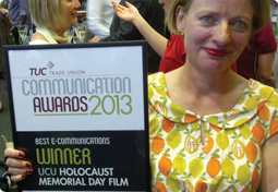 TUC Award for Holocaust Memorial Day film