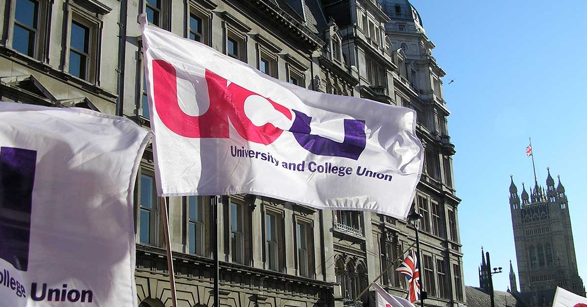 UCU Westminster flag