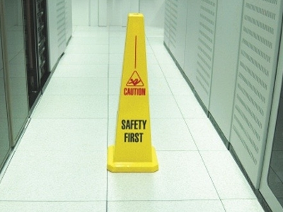 Floor caution cone