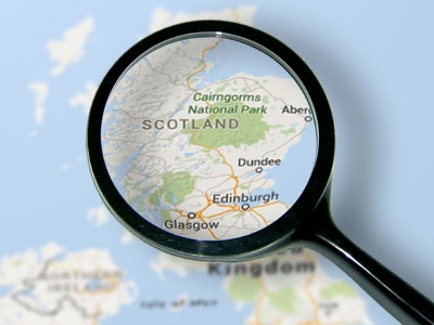 Scotland through a magnifying glass