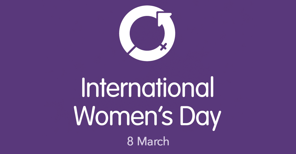 Logo for the International Women's Day campaign