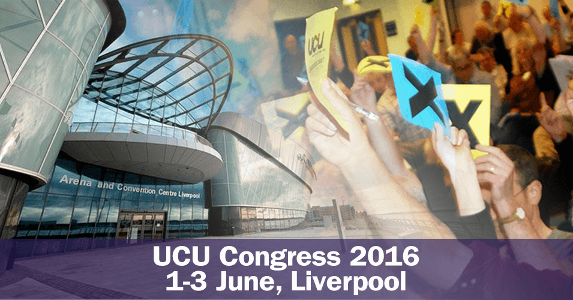 UCU Congress 2016