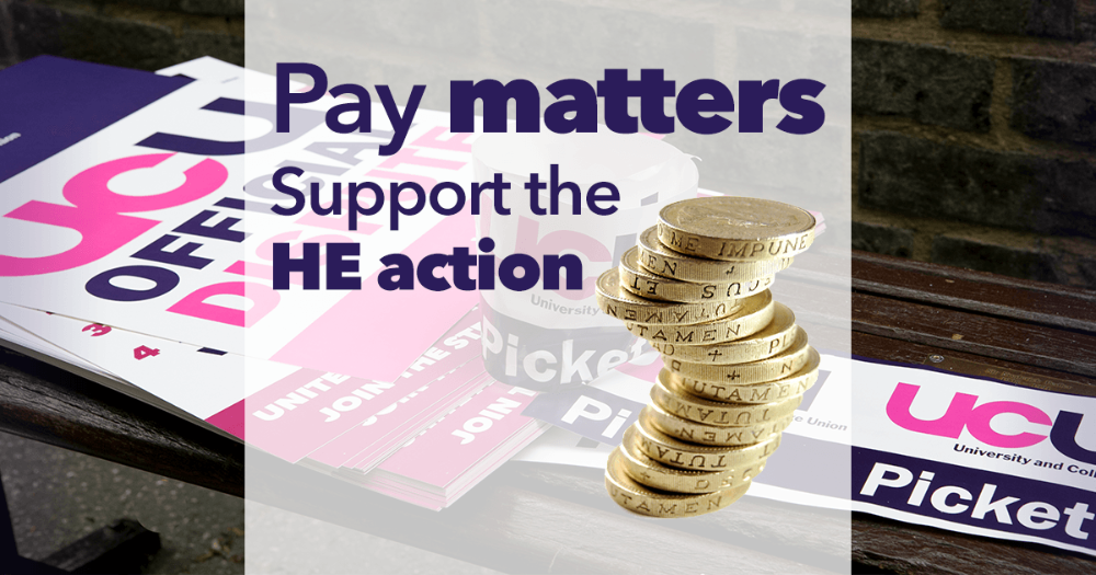 Pay matters - support the action