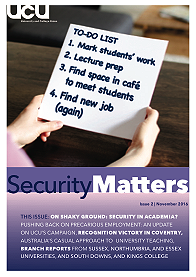 Cover of Security Matters issue 2