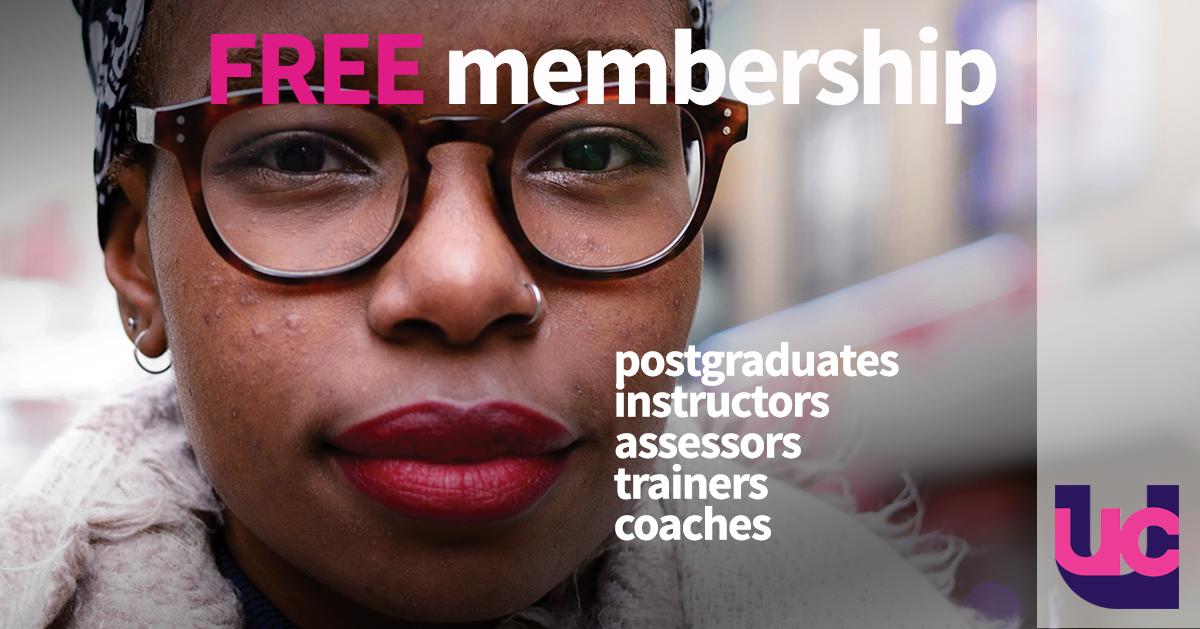 Free UCU membership