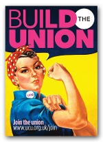 Rosie 'Build the Union' poster