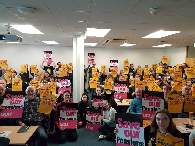 Nottingham UCU strike meeting
