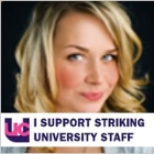 I support UCU's striking lecturers