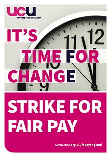 UCU FE strike poster thumb