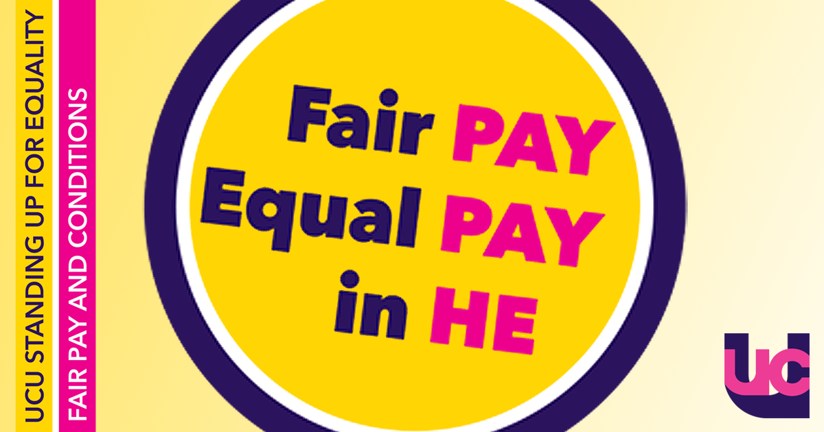 Fair pay, equal pay in HE