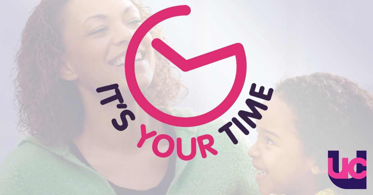 Logo for the 'It's Your Time' workload campaign