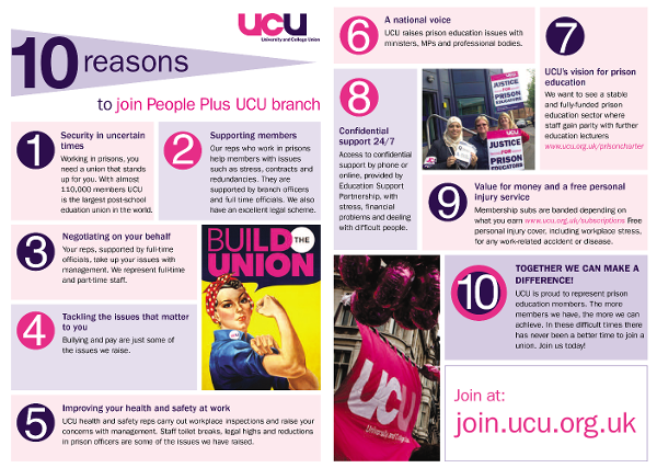 PeoplePlus 10 reasons to join UCU